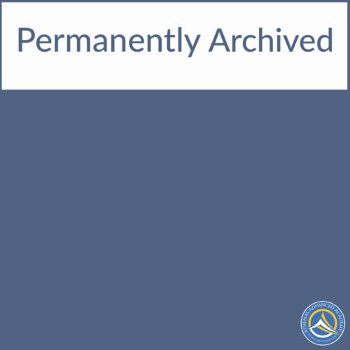 Permanently Archived
