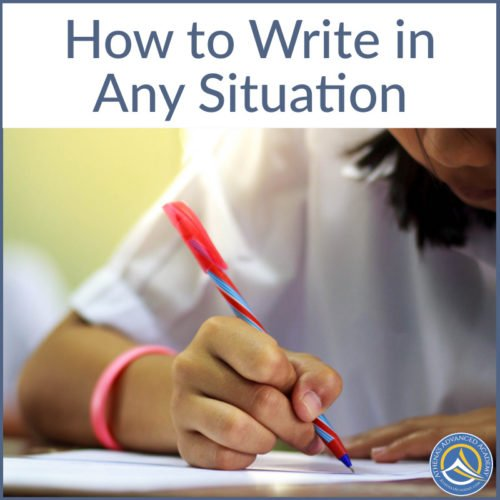 How to Write in Any Situation