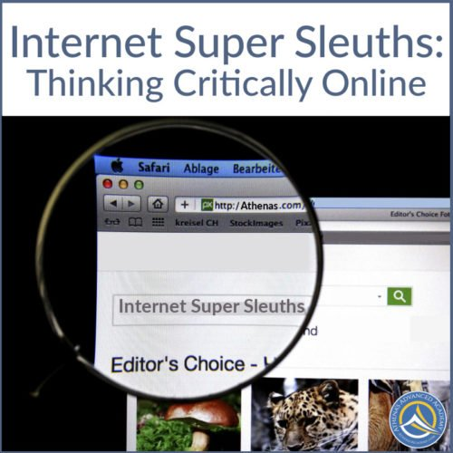 Internet Super Sleuths: Thinking Critically Online