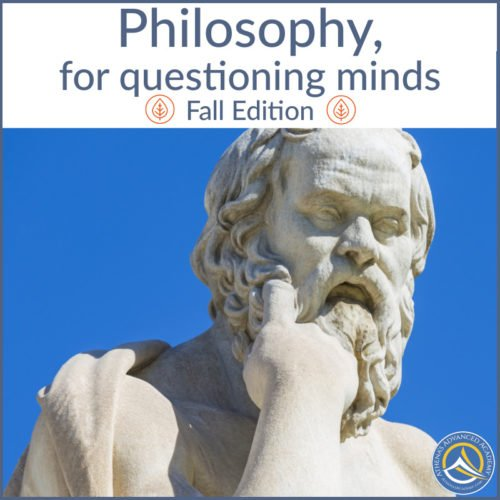 Philosophy, for questioning minds - Fall