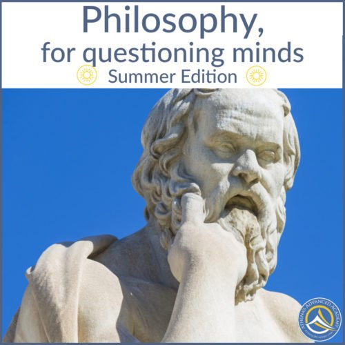 Philosophy, for questioning minds - Summer