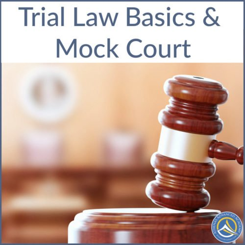 Trial Law Basics & Mock Court