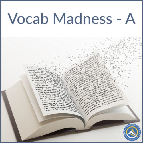 Vocab Madness A